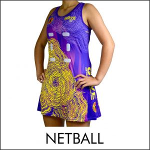 Custom Designed A-Line Netball Dress