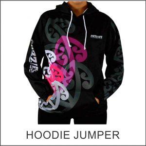 Custom Designed Hoodie Jumper