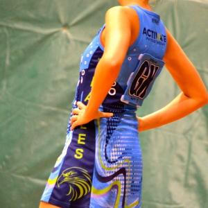 Custom Designed A-Line Netball Dress