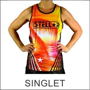 Custom Designed Singlet
