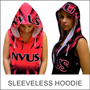 Custom Designed Sleeveless Hoodie