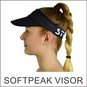 Custom Designed Softpeak Visor