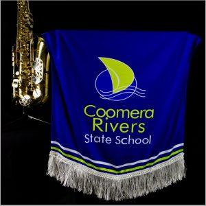 Custom Designed Music Stand Banner