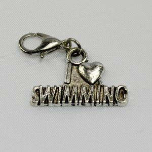 Charm I Love Swimming