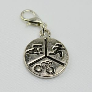 Charm Triathlon 3 Symbol Pendant