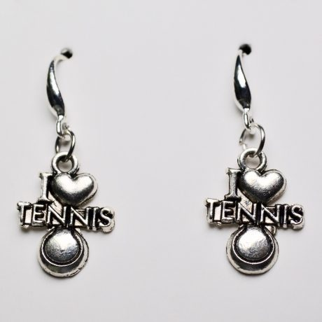 Stellar I Love Tennis Earrings