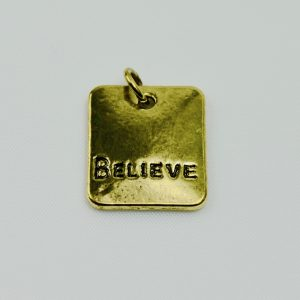 Motivational Charm Believe