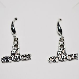 #1 Coach Earrings