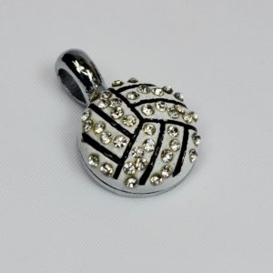 Charm Netball with Diamond Simulants