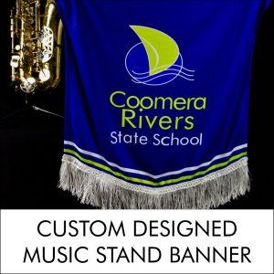 Stellar Custom Designed Music Stand Banner