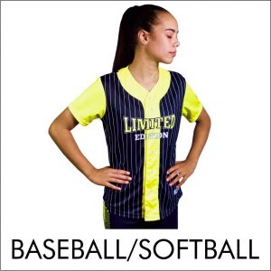 Stellar Baseball and Softball Jersey