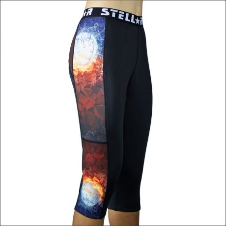 Stellar Compression Activewear Tights – Netball Flames
