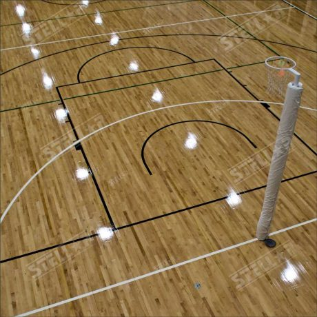 Netball Hoop Full Length Floorboards