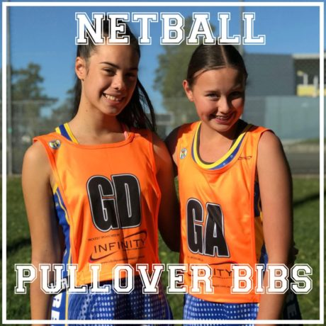 Netball Pullover Bibs product photo