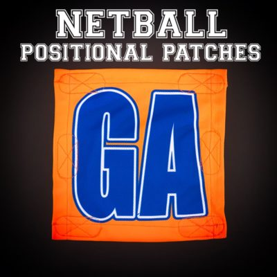 Netball Positional Patches