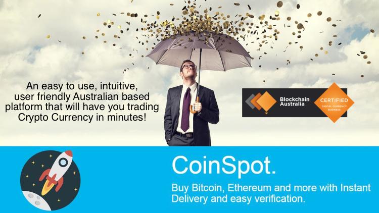 Coinspot Bitcoin Ethereum Crypto Currency Trading Platform Australia